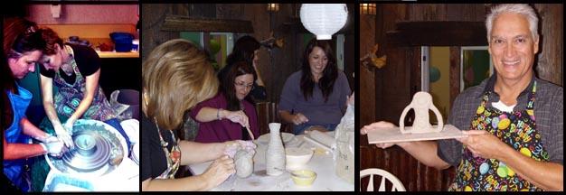 adult ceramics class